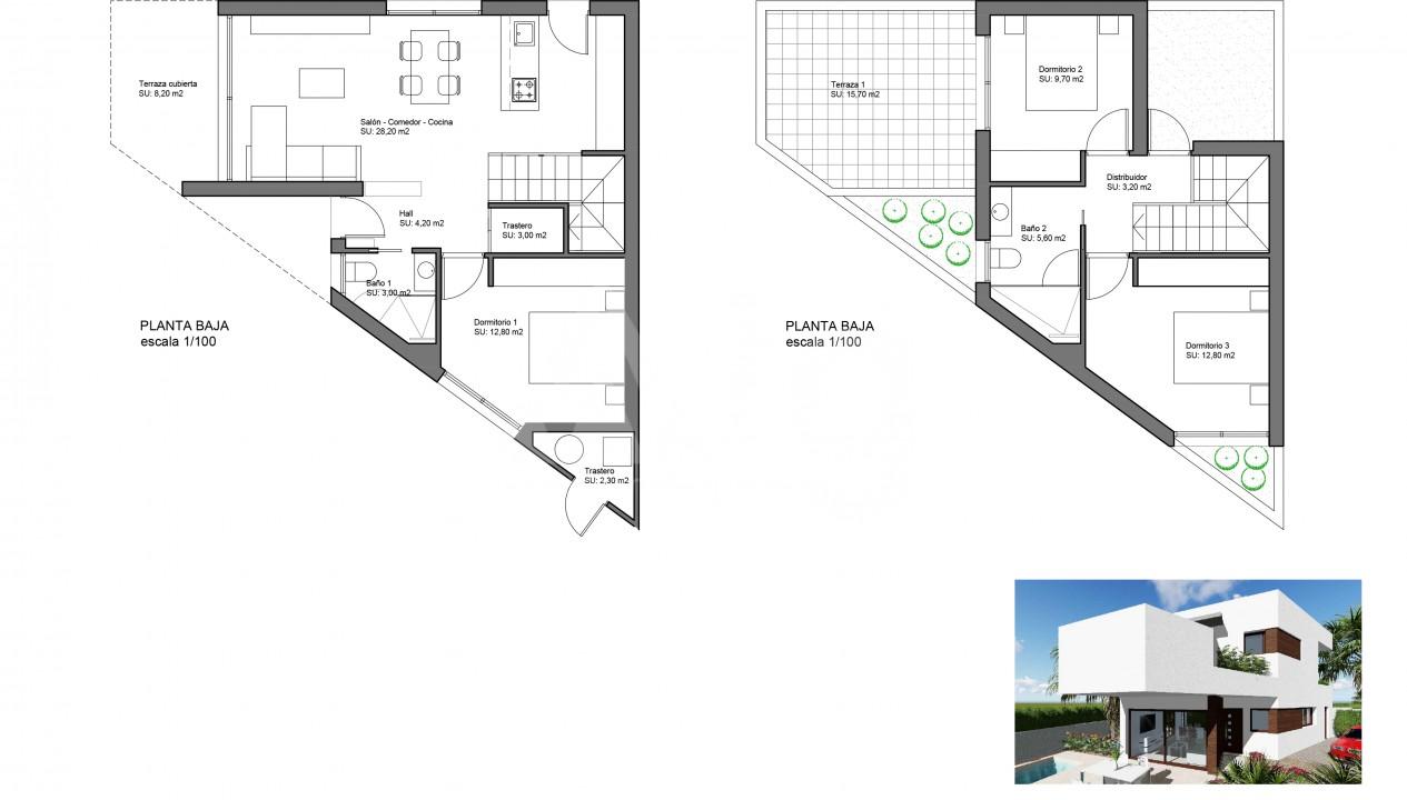 3 bedroom Villa in Benijófar  - SRE119460 - 2