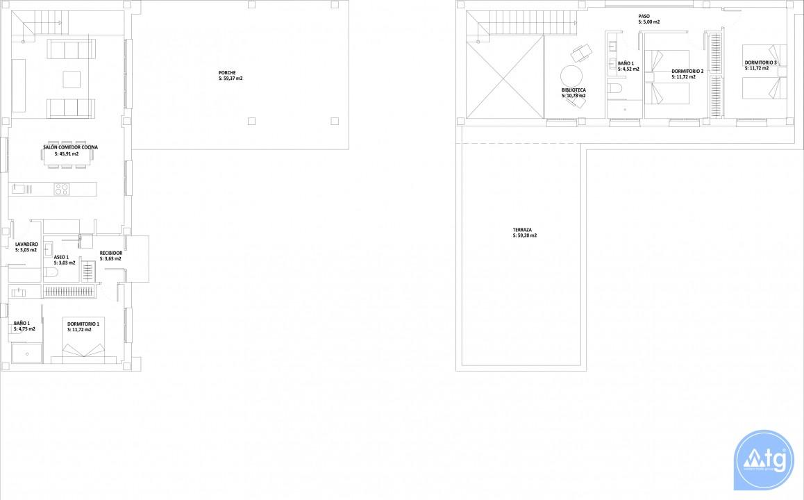 3 bedroom Villa in Ciudad Quesada  - JQ115430 - 7