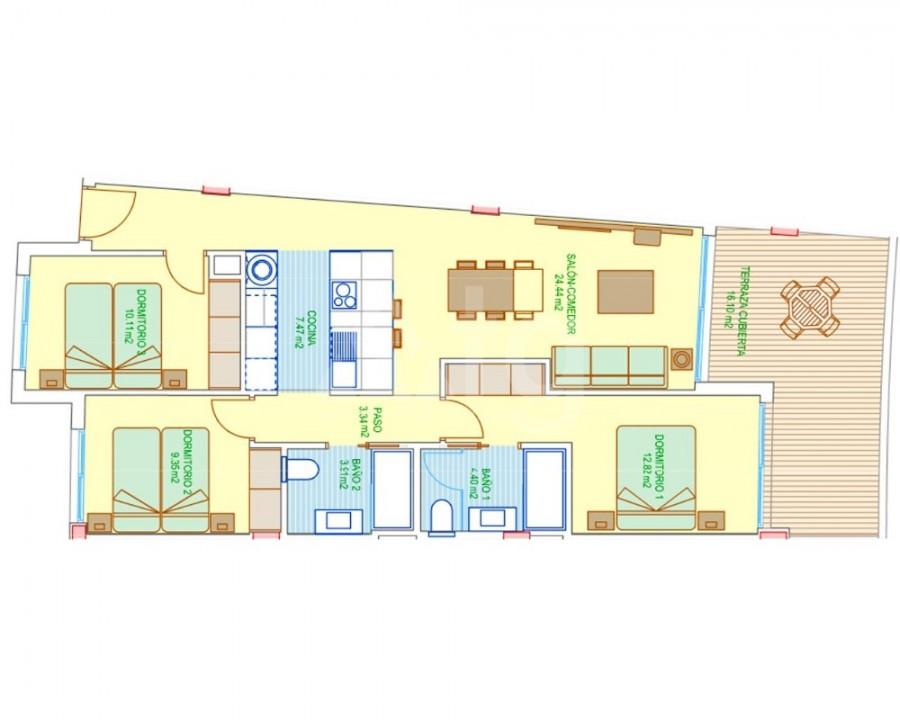 3 bedroom Villa in El Campello - M8145 - 15