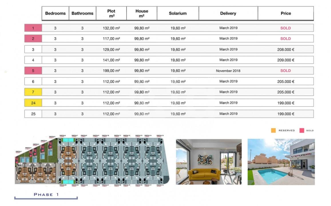 3 bedroom Villa in Orihuela Costa - HH6409 - 9