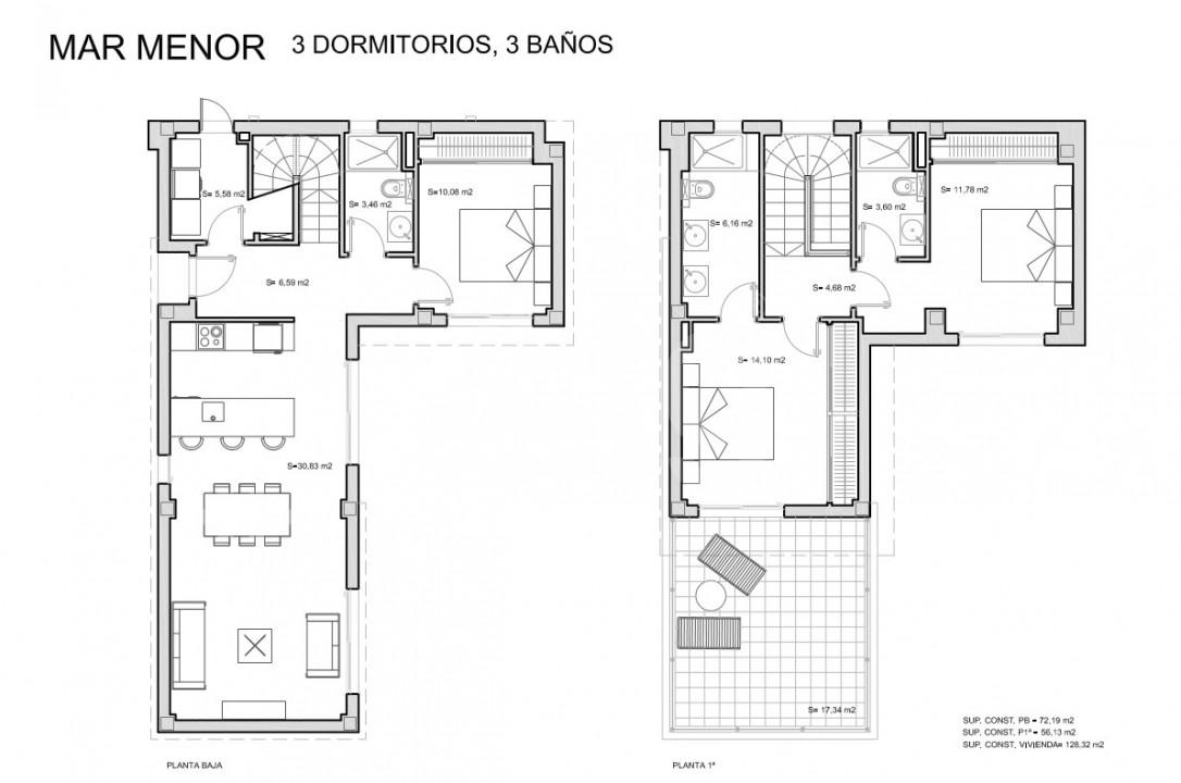 3 bedroom Villa in San Javier - TN8658 - 13