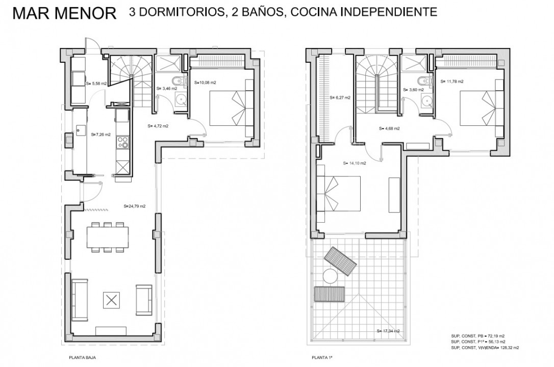 3 bedroom Villa in San Javier - TN8658 - 15
