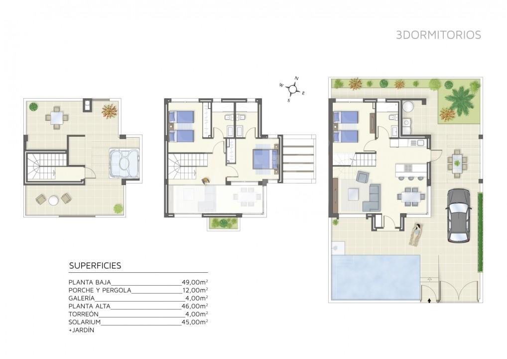 3 bedroom Villa in Villamartin - IV5979 - 12
