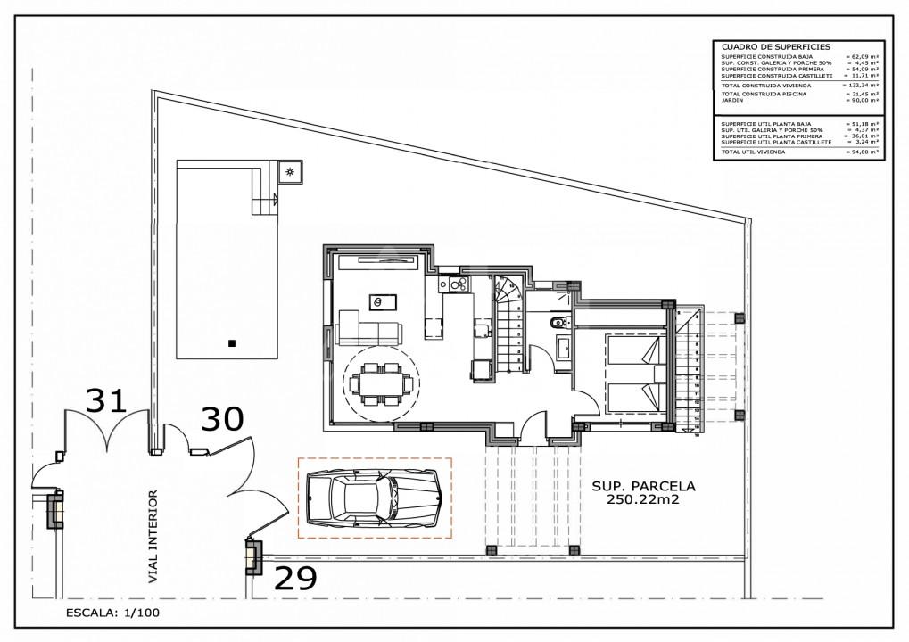 3 bedroom Villa in Villamartin - IV5979 - 13