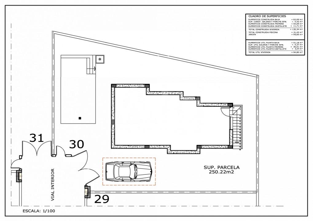 3 bedroom Villa in Villamartin - IV5979 - 16