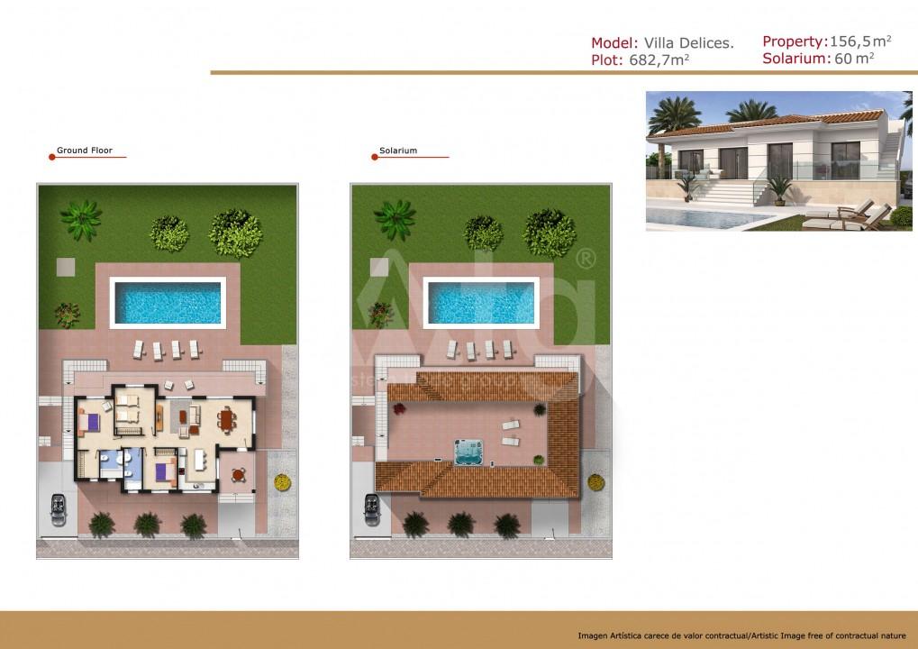 Villa de 3 chambres à Ciudad Quesada - ER114404 - 3