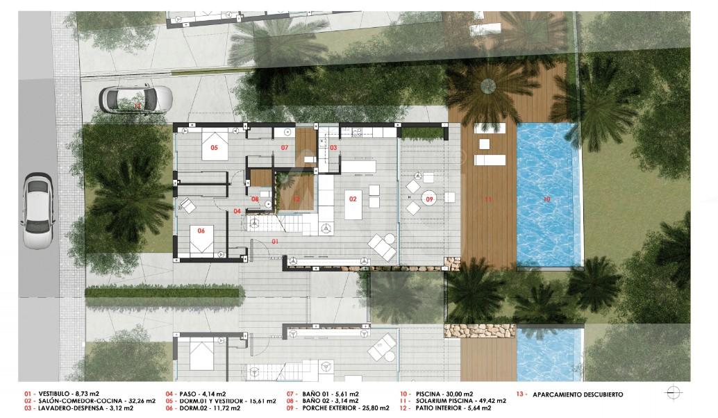 3 bedroom Villa in El Mojon  - GU117151 - 13