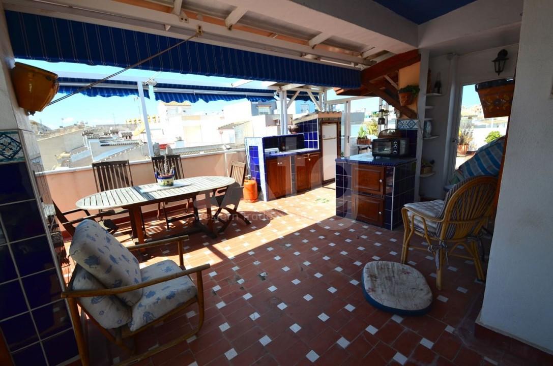 Villa de 3 chambres à San Pedro del Pinatar - GU2208 - 7