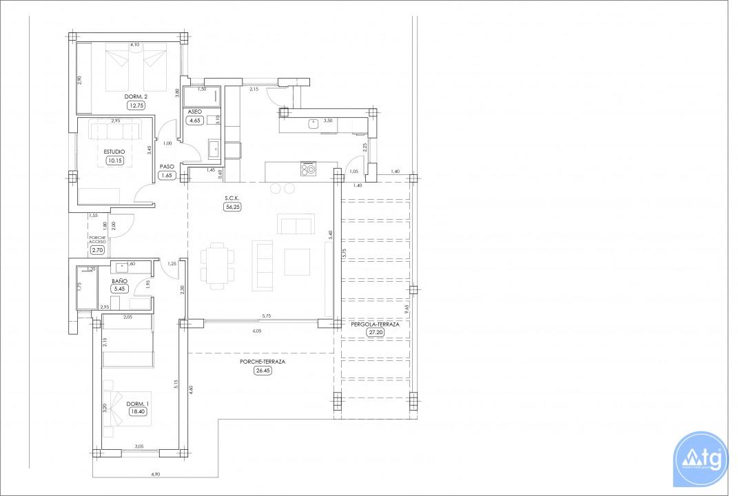 Вилла в Альгорфа, 3 спальни  - TRI114881 - 43