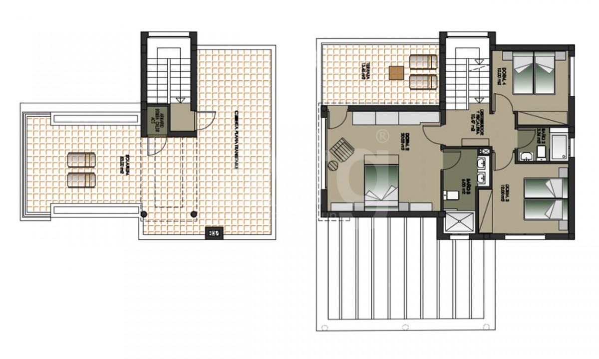 4 bedroom Villa in Dehesa de Campoamor - AGI3987 - 20