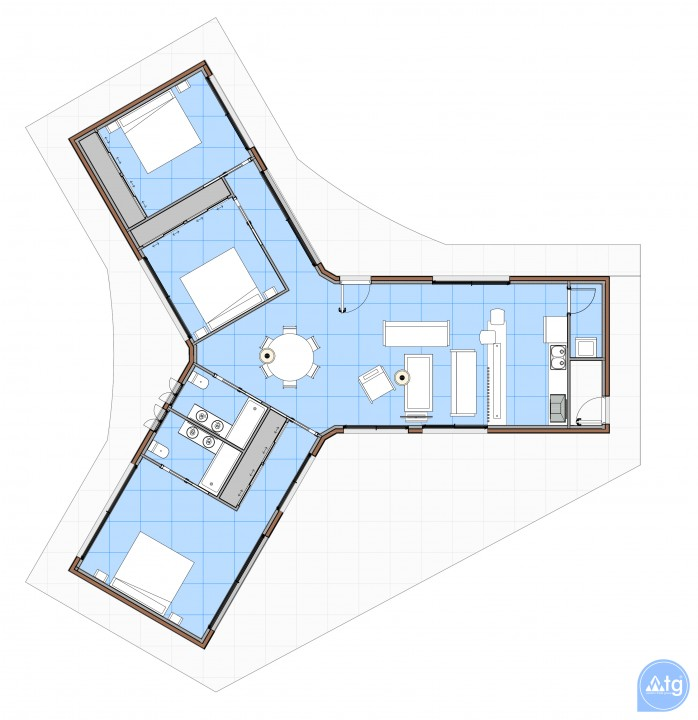 3 bedroom Villa in Sant Joan d'Alacant  - PH1110277 - 8