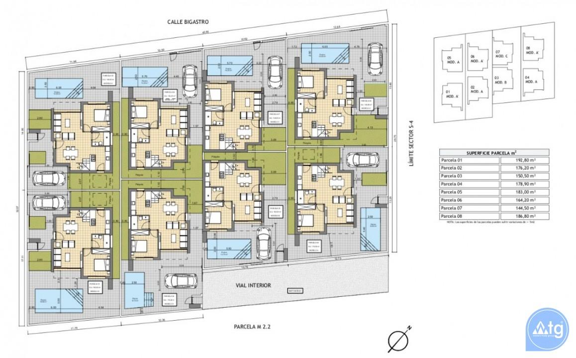 Villas cerca de la playa en Torre de la Horadada, Costa Blanca - BM118209 - 5