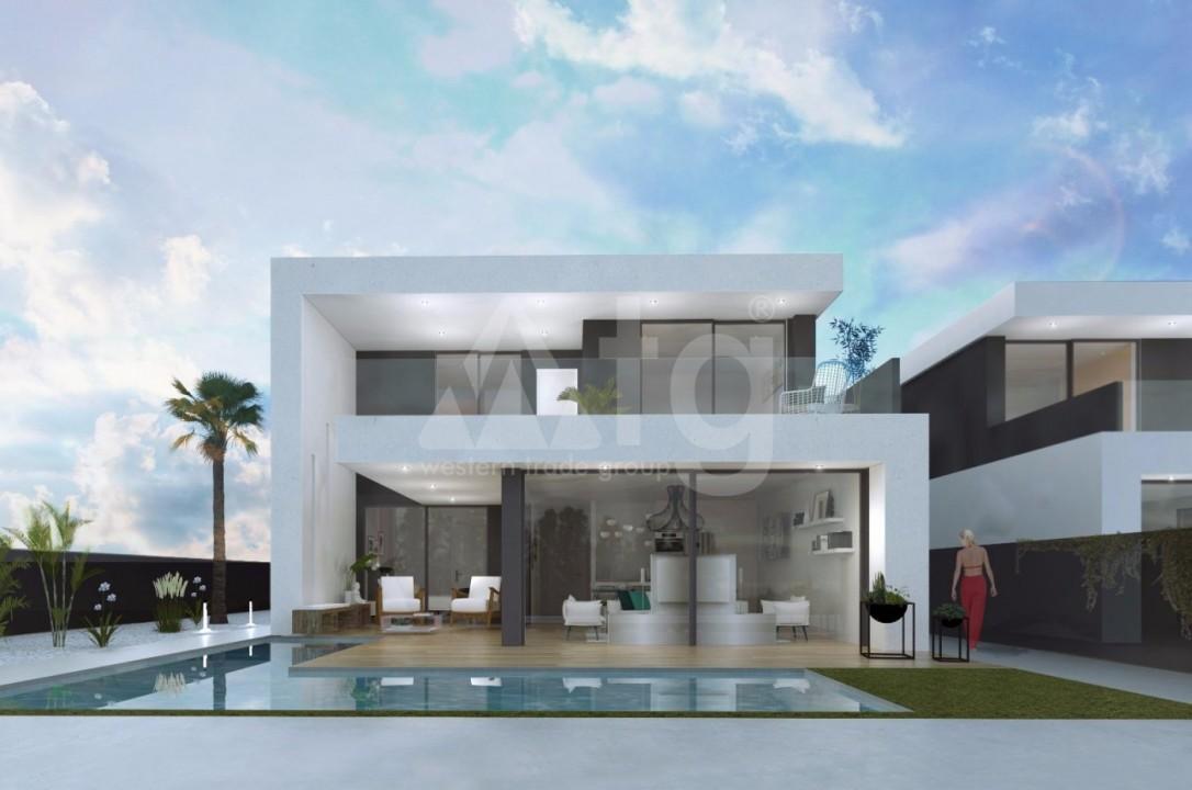 Villas en Santiago de la Ribera, 3 dormitorios, area 128 m<sup>2</sup> - WHG113950 - 2