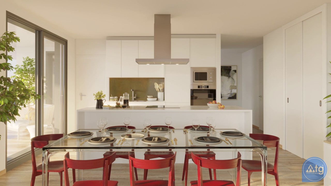 2 bedroom Apartment in Villajoyosa  - QUA8617 - 28