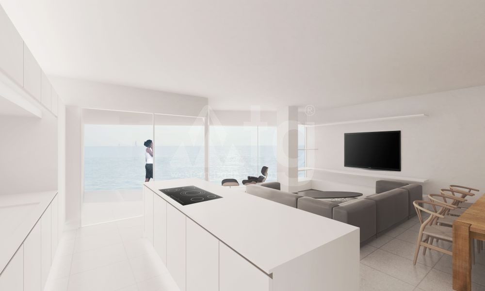 2 bedroom Apartment in Villajoyosa  - QUA8617 - 4