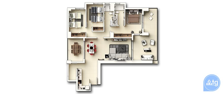 2 bedroom Apartment in Punta Prima - GD6289 - 28