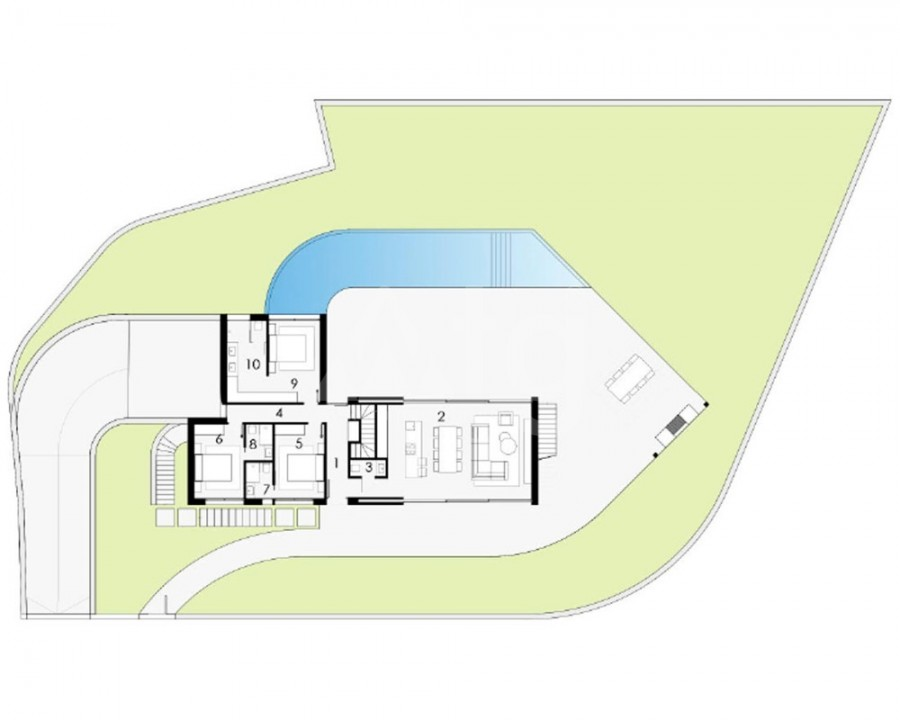 3 bedroom Duplex in Ciudad Quesada  - ER8301 - 10