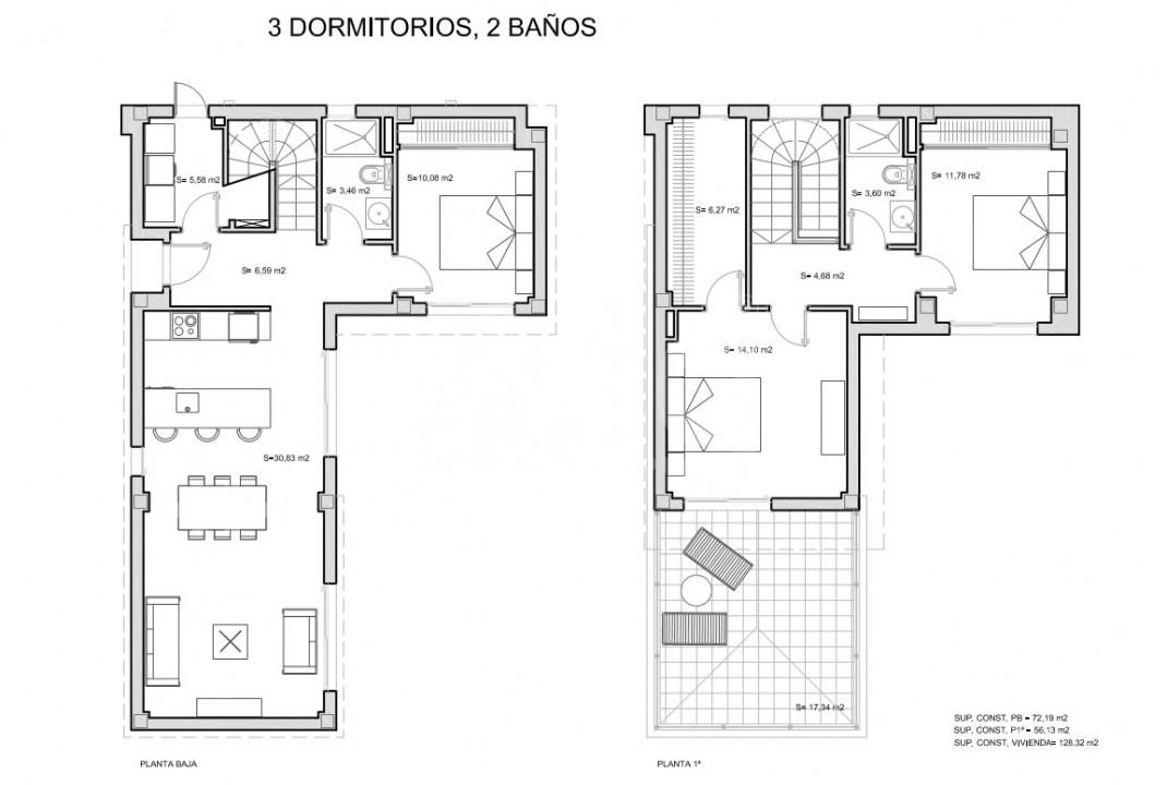 3 bedroom Villa in San Javier - TN8654 - 14