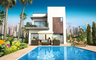 3 bedroom Villa in Finestrat - CG7656