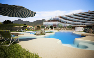 2 bedroom Apartment in La Manga  - UBA116823