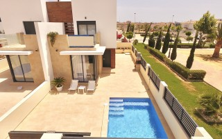 Bungalow cu 3 dormitoare în San Miguel de Salinas  - AGI5770