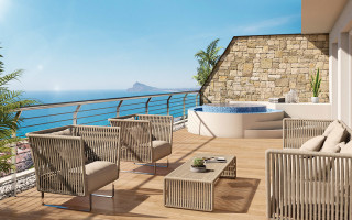 2 bedroom Apartment in Finestrat  - CAM114947