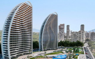 2 bedroom Apartment in Benidorm  - TM117000