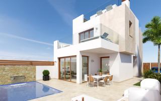 Elite Neue Villa in Los Alcázares, 3 Schlafzimmer, flache 161 m<sup>2</sup> - DS2164