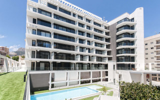 Luxury Class Apartments in Calpe, 2 bedrooms - SOL116473