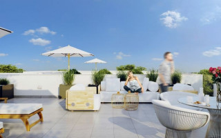 3 bedroom Penthouse in La Zenia  - US114830