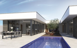 Magnificent Villa in Sant Joan d'Alacant, area 231 m<sup>2</sup> - PH1110313