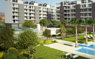 2 Schlafzimmer Appartement in Villajoyosa  - VLH118548