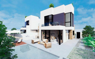 Moderne Wohnung in Torrevieja, bis zum Meer 300 m - TR114320