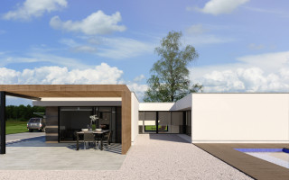 New House in Sant Joan d'Alacant, 3 bedrooms, area 231 m<sup>2</sup> - PH1110325