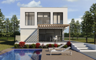 New Villa in Sant Joan d'Alacant, 3 bedrooms, area 274 m<sup>2</sup>  - PH1110397