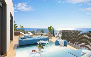 Penthouse de 3 chambres à La Vila Joiosa - QUA8633
