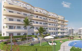 Appartement de 2 chambres à San Pedro del Pinatar - GU8309