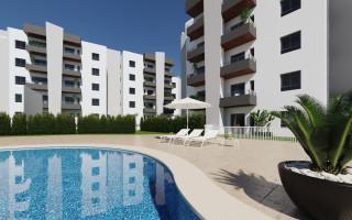 Nowoczesny nowy duplex blisko morza w Guardamar del Segura, Costa Blanca, Hiszpania - AT117721