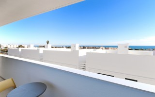 Penthouse niedałeko od morza w Guardamar del Segura - AT115145