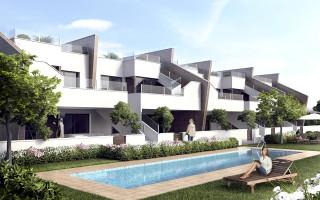 Appartement de 2 chambres à San Pedro del Pinatar - OK8074