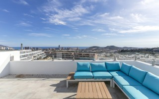 Przytulny penthouse w Finestrat, Costa Blanca  - CAM115011