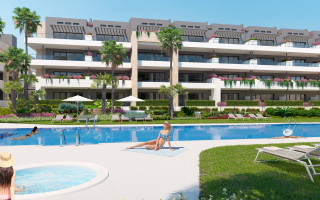 2 bedroom Apartment in Playa Flamenca  - TM117595