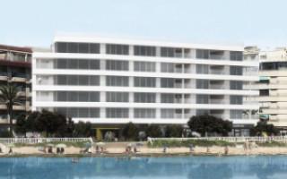 2 bedroom Apartment in Villajoyosa - QUA8617