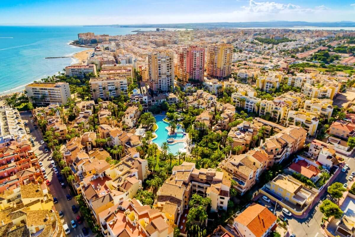 Torrevieja, the sunniest city on the Costa Blanca